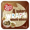 Wraps - pšeničné placky z celozrnné mouky 25 cm (krt)