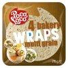 Wraps - pšeničné placky z vícezrnné mouky 25 cm (krt)