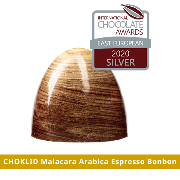 chocolate awards east european 2020 silver - choklid