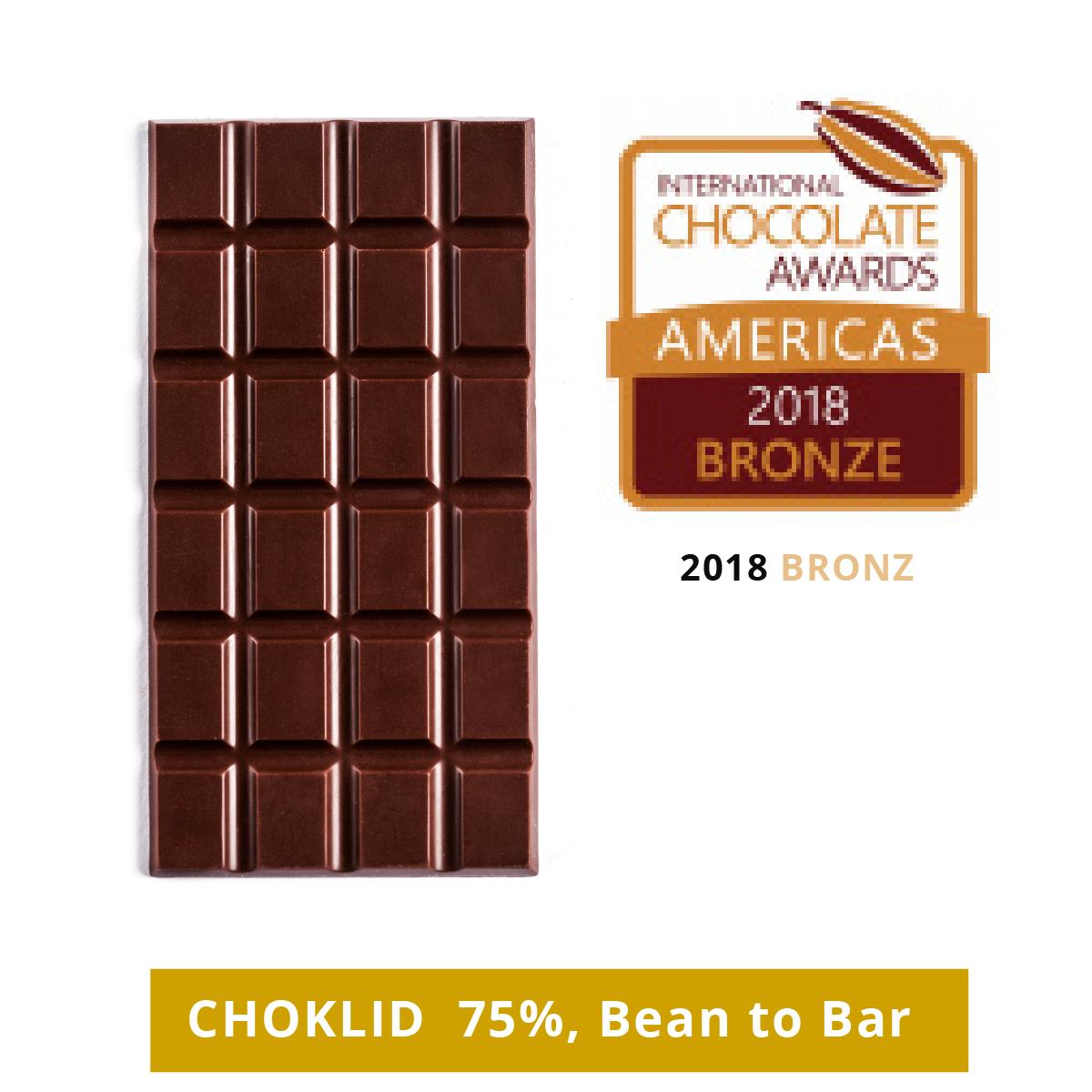 chocolate awards east european 2020 silver - choklid