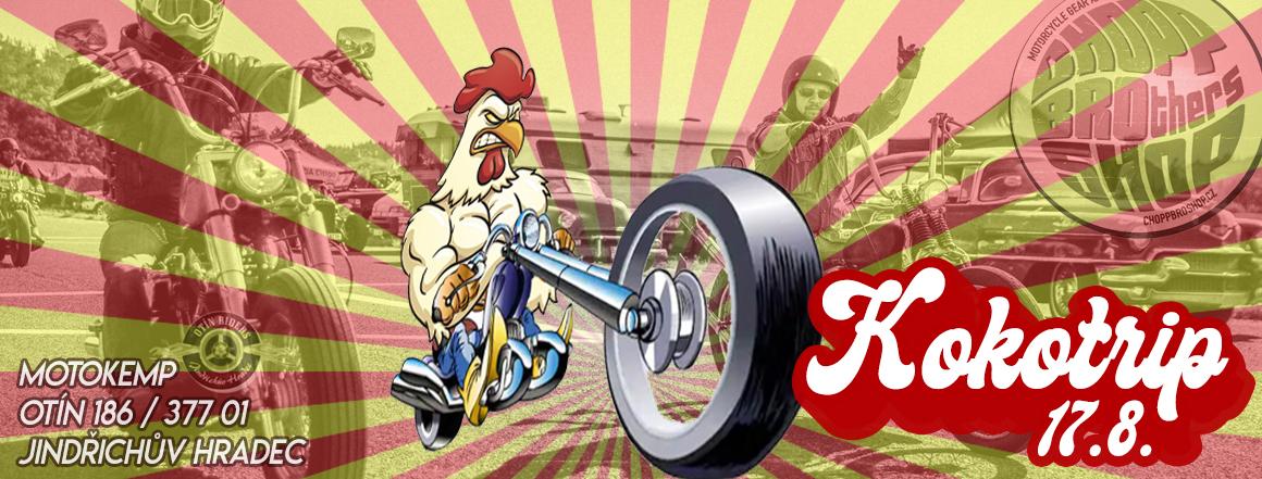Moto Sraz Kokotrip - Jedinečná párty pro všechny motorkáře
