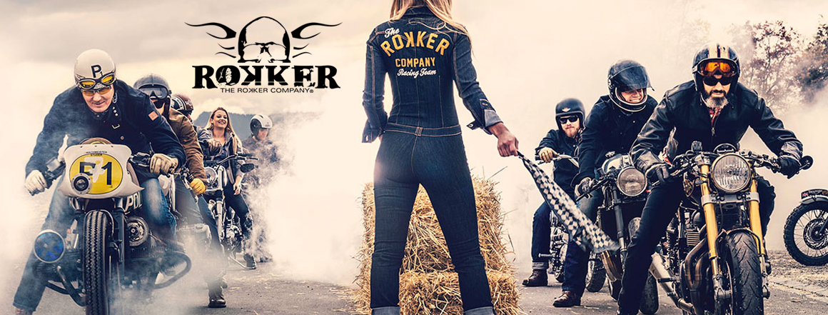 Rokker Jeans špičkové kalhoty na motocykl