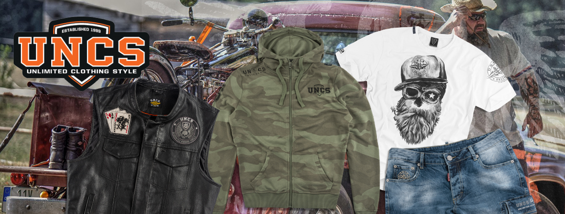 UNCS - stylové oblečení pro motorkáře