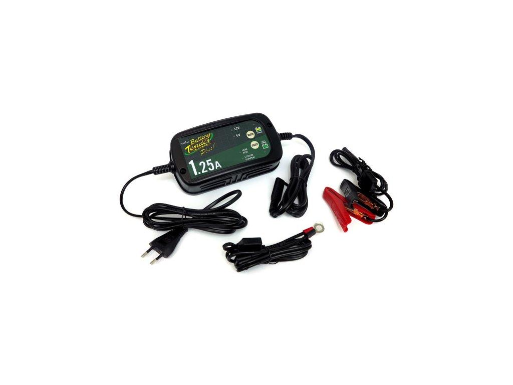 Motorkářská nabíječka pro všechny motocyklové baterie Battery Tender Plus 1,25A Selectable