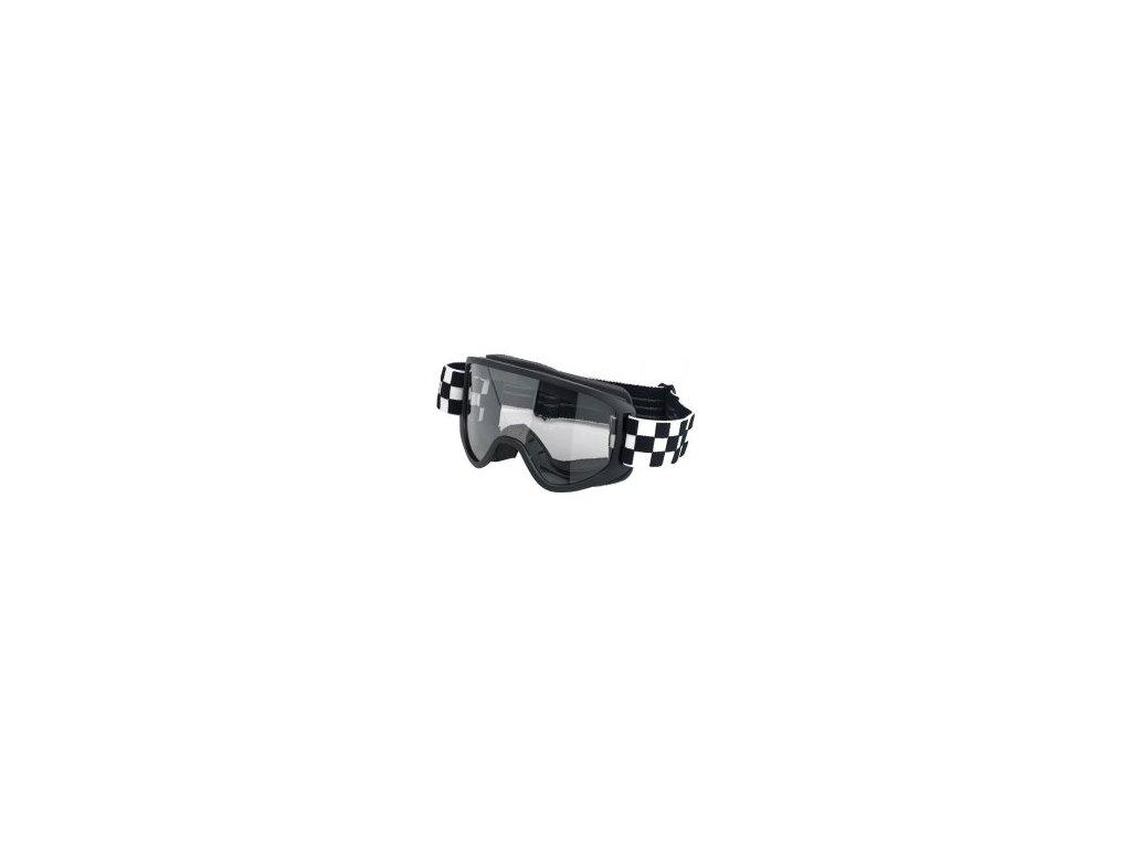 Biltwell Brýle Moto 2.0, Checkers Black/White
