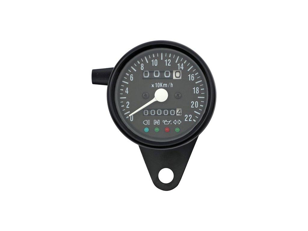 LED MINI Speedometer 2:1 KMH / BLACK