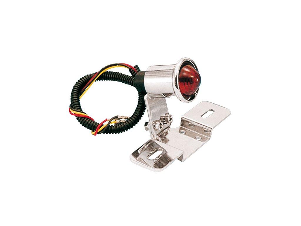 Koncové LED světlo EASYRIDERS s držákem SPZ