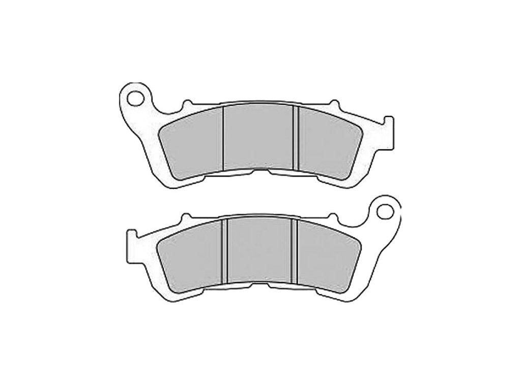 Brzdové destičky FERODO pro Sportster XL 14-17 front/přední
