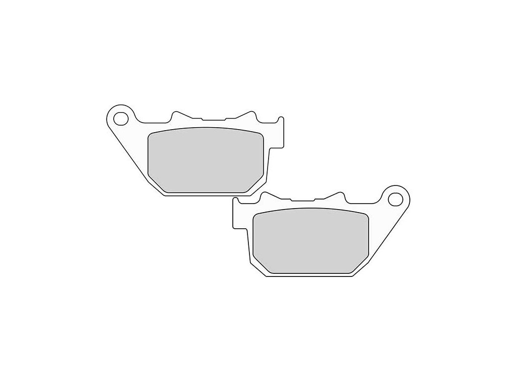 Brzdové destičky FERODO pro Sportster XL 04-13 rear/zadní