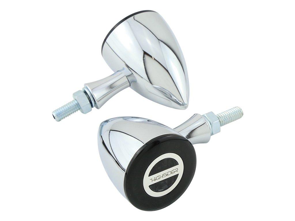 Highsider, Rocket Bullet blinkr/poziční světlo, LED, E homologace