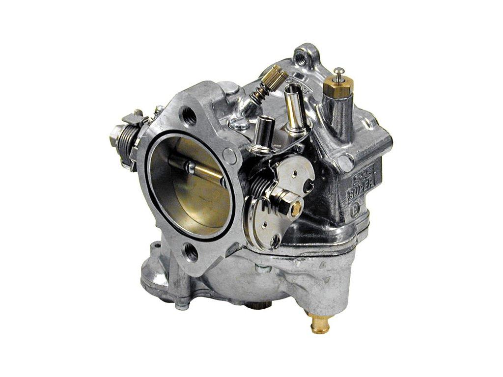 S&S  Super E Carburátor, Leštěný / Big Twin 84-92
