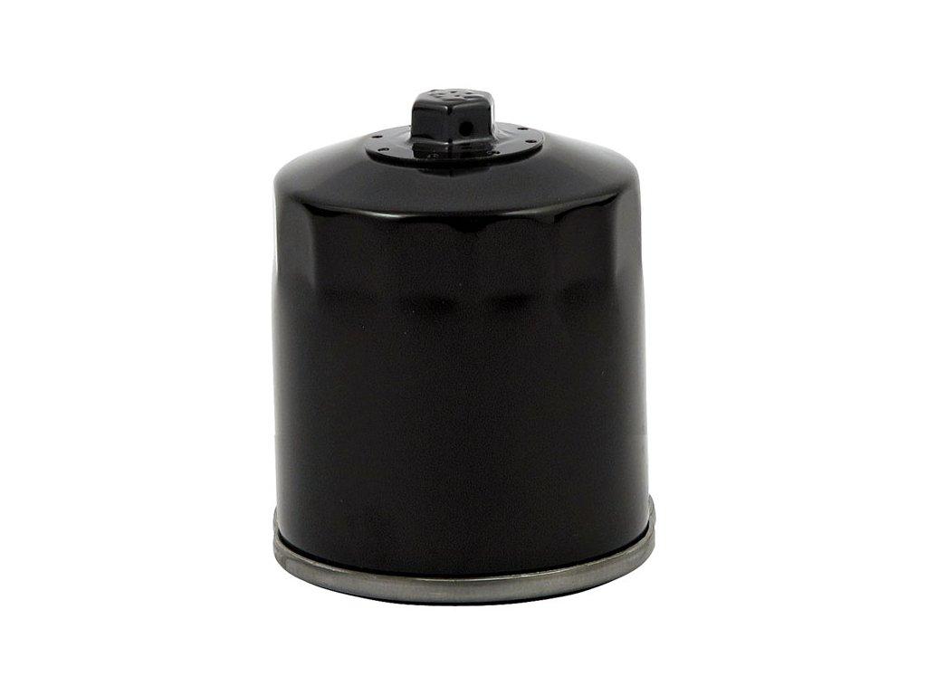 Černý olejový filtr, magnetický. HARLEY DAVIDSON V-Rod 2002 - 2017  HD OEM 63793-01K  TW Ryder