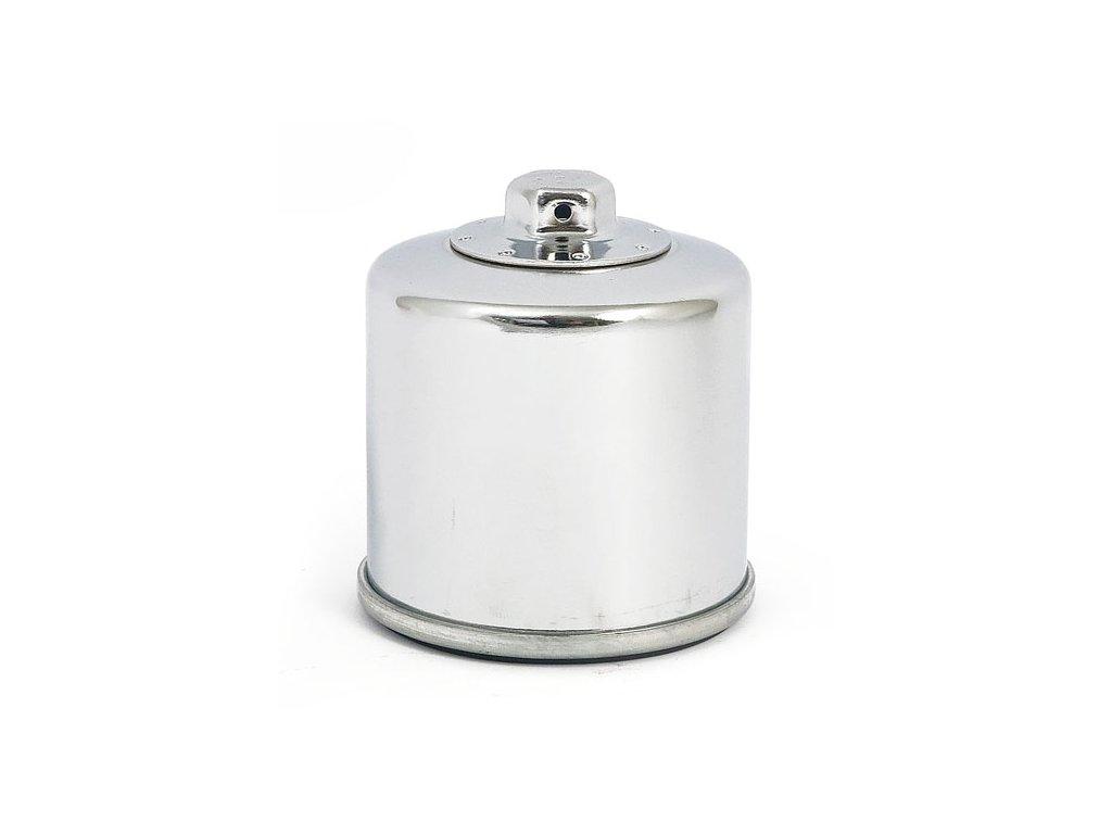 K&N chromový olejový filtr, magnetický. HARLEY DAVIDSON - XG500/750 Street 2015 - současnost - XG750A Street RodHD OEM 62700045