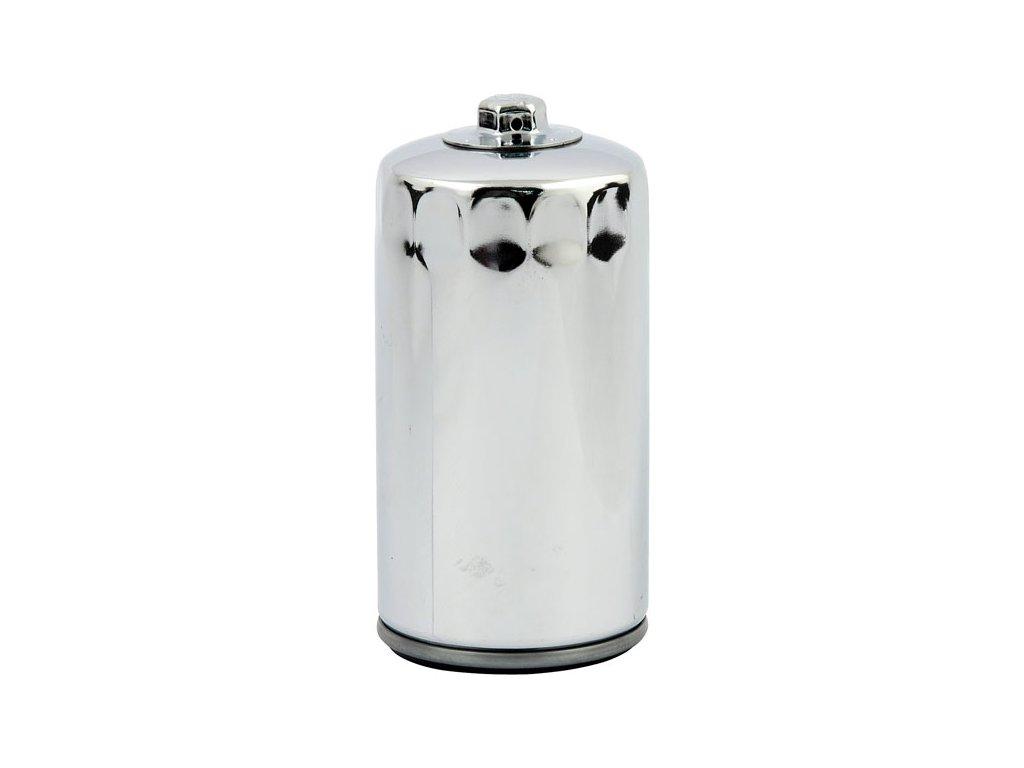 Chromový olejový filtr, magnetický. Jednoduchá montáž/demontáž za použití 17 mm klíče.Nahrazuje HD OEM 63813-90 a 63812-90  Určený pro:  HARLEY DAVIDSON FXD Dyna 1991 - 1998