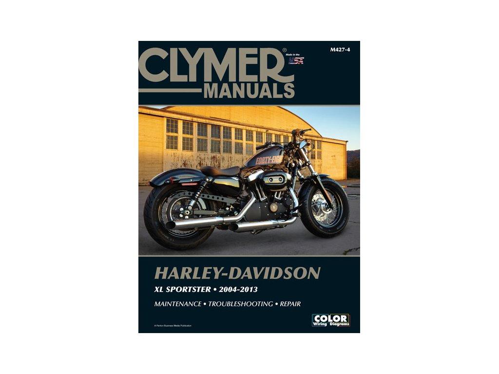 Servisní manuál v anglickém jazyce pro motocykly Harley-Davidson obsahuje vše od seznamu chybových kódů až po kompletní schémata zapojení. Od základní udržby po řešení problémů a dokončení generální opravy vašeho motocyklu. Jasně a srozumitelně vysvětleno a popsáno. Clymer manuál pro Sportster modely, to je 616 stránek se stovkami fotografií, kreseb a grafů.  TW Ryder