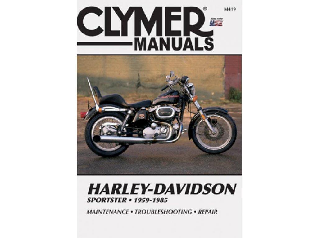 Servisní manuál v anglickém jazyce pro motocykly Harley-Davidson obsahuje vše od seznamu chybových kódů až po kompletní schémata zapojení. Od základní udržby po řešení problémů a dokončení generální opravy vašeho motocyklu. Jasně a srozumitelně vysvětleno a popsáno. Clymer manuál pro Sportster H, CH, XLCH, XLCR, XLH a XLmodely, to je 384 stránek se stovkami fotografií, kreseb a grafů. TW Ryder
