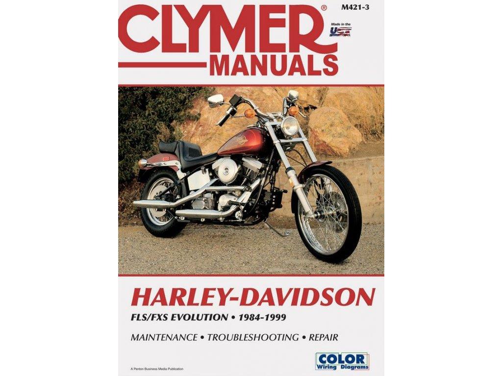 Servisní manuál v anglickém jazyce pro motocykly Harley-Davidson obsahuje kompletní schémata zapojení. Od základní údržby po řešení problémů a dokončení generální opravy vašeho motocyklu. Jasně a srozumitelně vysvětleno a popsáno. Clymer manuál pro FLS a FXS Evolution Softail modely, to je 656 stránek se stovkami fotografií, kreseb a grafů. TW Ryder