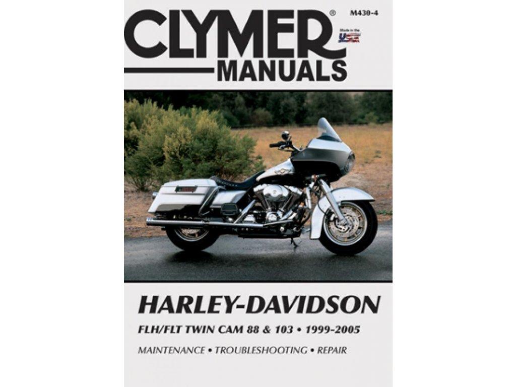 Servisní manuál v anglickém jazyce pro motocykly Harley-Davidson obsahuje vše od seznamu chybových kódů až po kompletní schémata zapojení. Od základní údržby po řešení problémů a dokončení generální opravy vašeho motocyklu. Jasně a srozumitelně vysvětleno a popsáno. Clymer manuál pro FLH/FLT Twin Cam 88 a 103 Touring 1999-2005modely, to je 720 stránek se stovkami fotografií, kreseb a grafů. TW Ryder