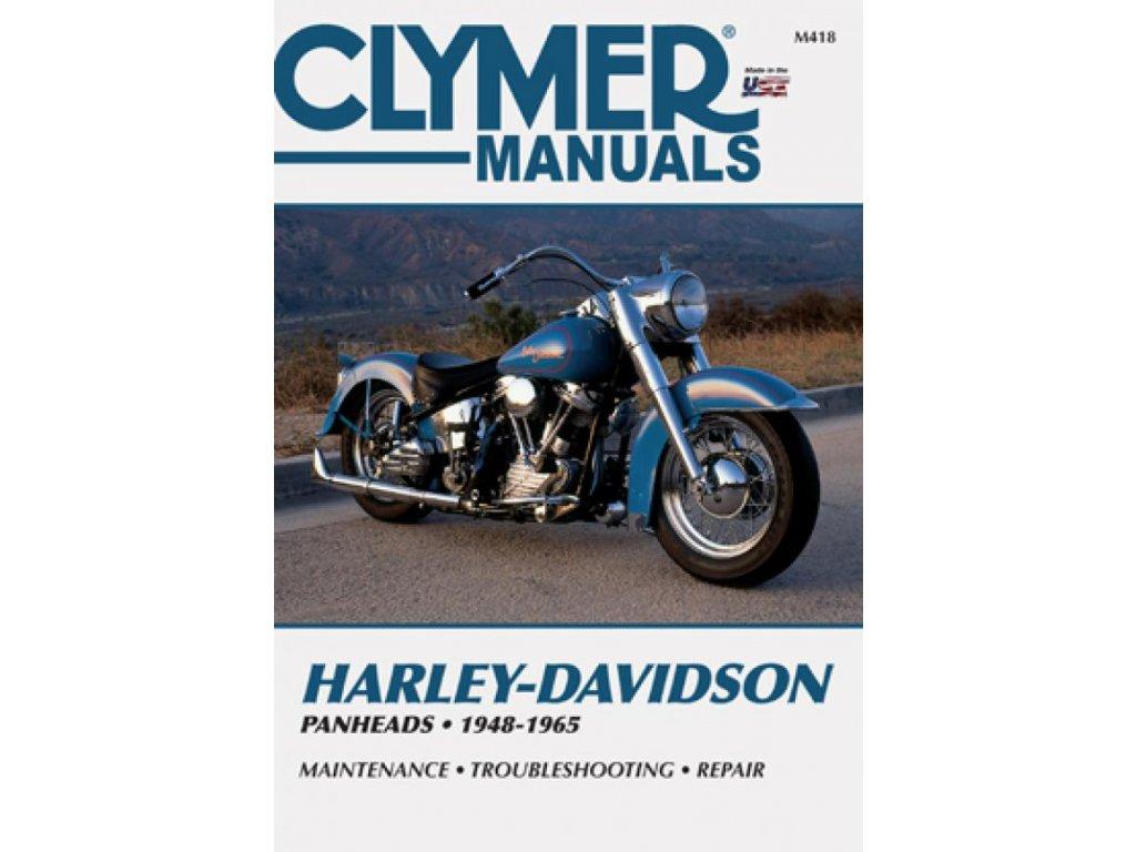 Servisní manuál v anglickém jazyce pro motocykly Harley-Davidson obsahuje kompletní schémata zapojení. Od základní údržby po řešení problémů a dokončení generální opravy vašeho motocyklu. Jasně a srozumitelně vysvětleno a popsáno. Clymer manuál pro Panhead 1948-1965 modely, to je 528 stránek se stovkami fotografií, kreseb a grafů. TW Ryder