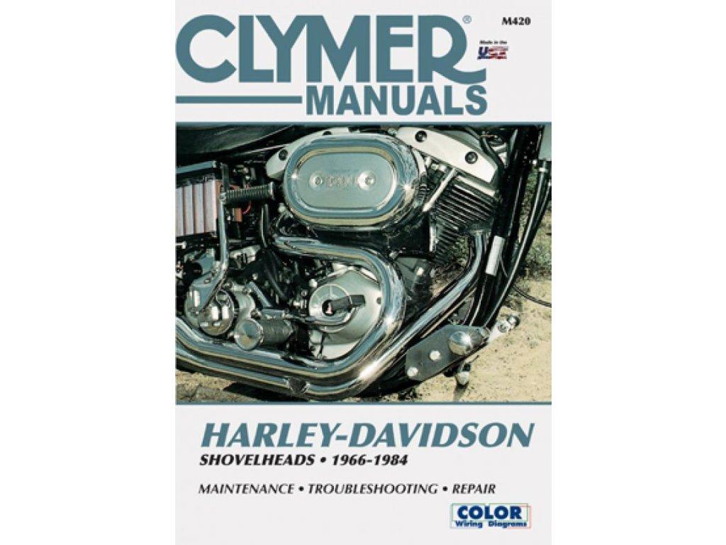 Servisní manuál v anglickém jazyce pro motocykly Harley-Davidson obsahuje kompletní schémata zapojení. Od základní údržby po řešení problémů a dokončení generální opravy vašeho motocyklu. Jasně a srozumitelně vysvětleno a popsáno. Clymer manuál pro Shovelhead 1966-1984 modely, to je 432 stránek se stovkami fotografií, kreseb a grafů. TW Ryder