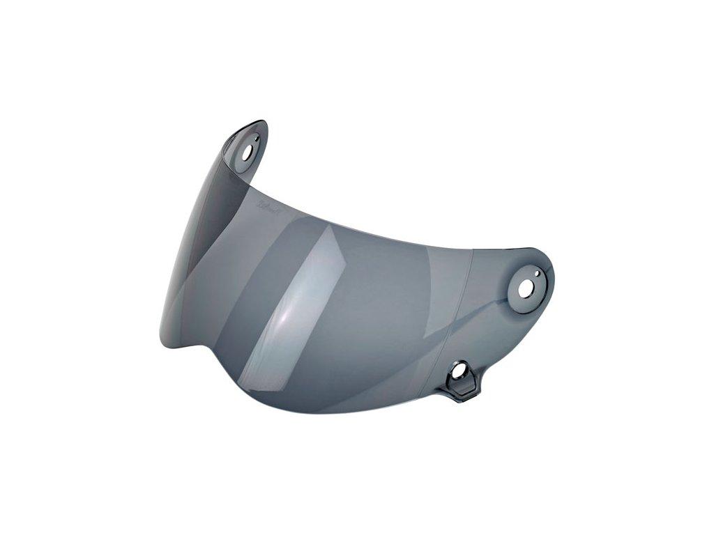Kouřový výměnný štít pro Biltwell Lane Splitter helmy s proti mlžící funkcí. TW Ryder