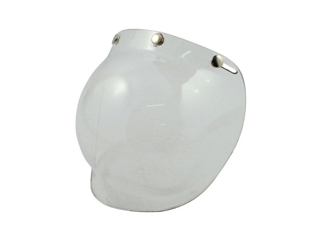 Čirý štít pro Bandit Jet přilby, vyrobeno z Polykarbonátu. TW Ryder