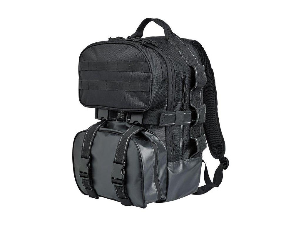 Multifunkční batoh Biltwell Exfill-48 je navržen jezdci pro jezdce. Vybaven motocentrickými funkcemi pro motorkáře. TW Ryder