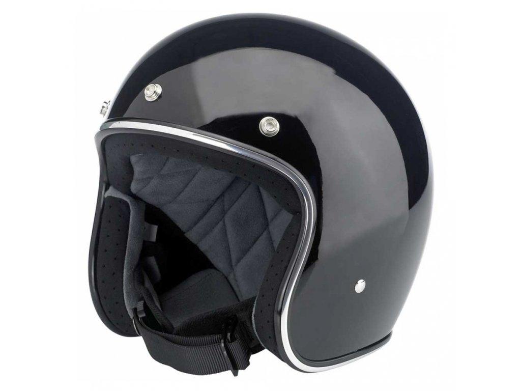 BILTWELL Bonanza Helmet Gloss Black