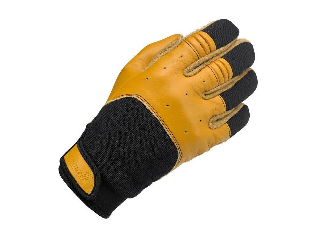 Rukavice Bantam Gloves - Tan/Black Biltwell