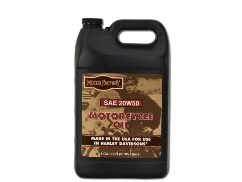 Motorový olej SAE 20W50 - 1 gal. Motor Factory