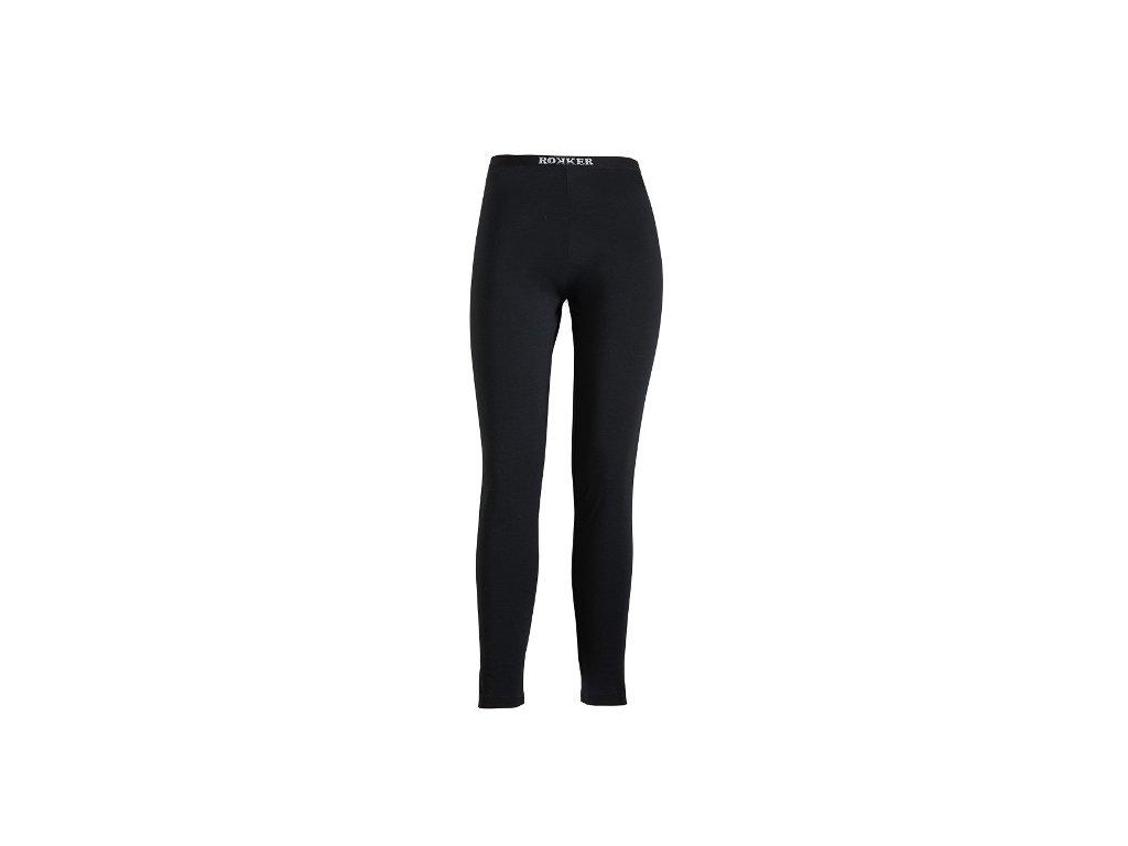 Motorkářské spodní kalhoty ROKKER PERFORMANCE LONG TIGHTS LIGHT v černé barvě
