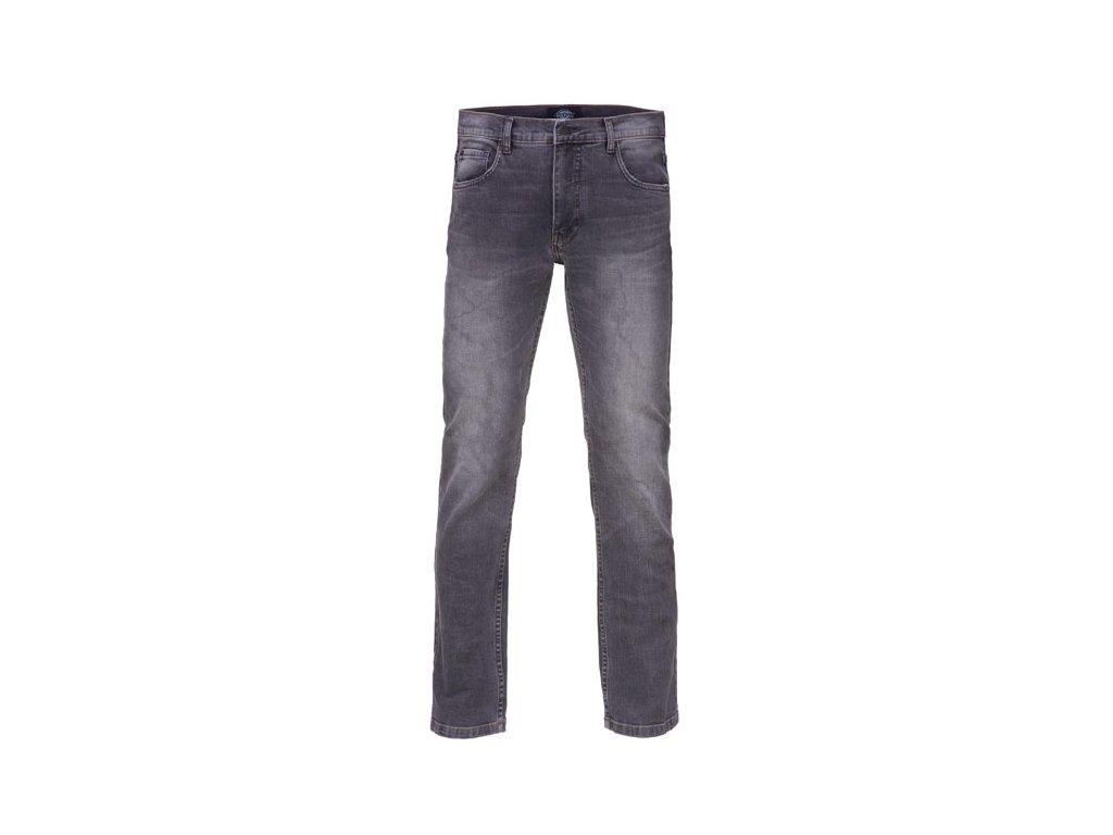 Motorkářské kalhoty (džíny) s úzkými nohavicemi Dickies RHODE ISLAND MID GREY v šedé barvě
