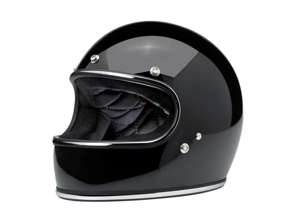 Gringo Helmet Gloss Black ECE