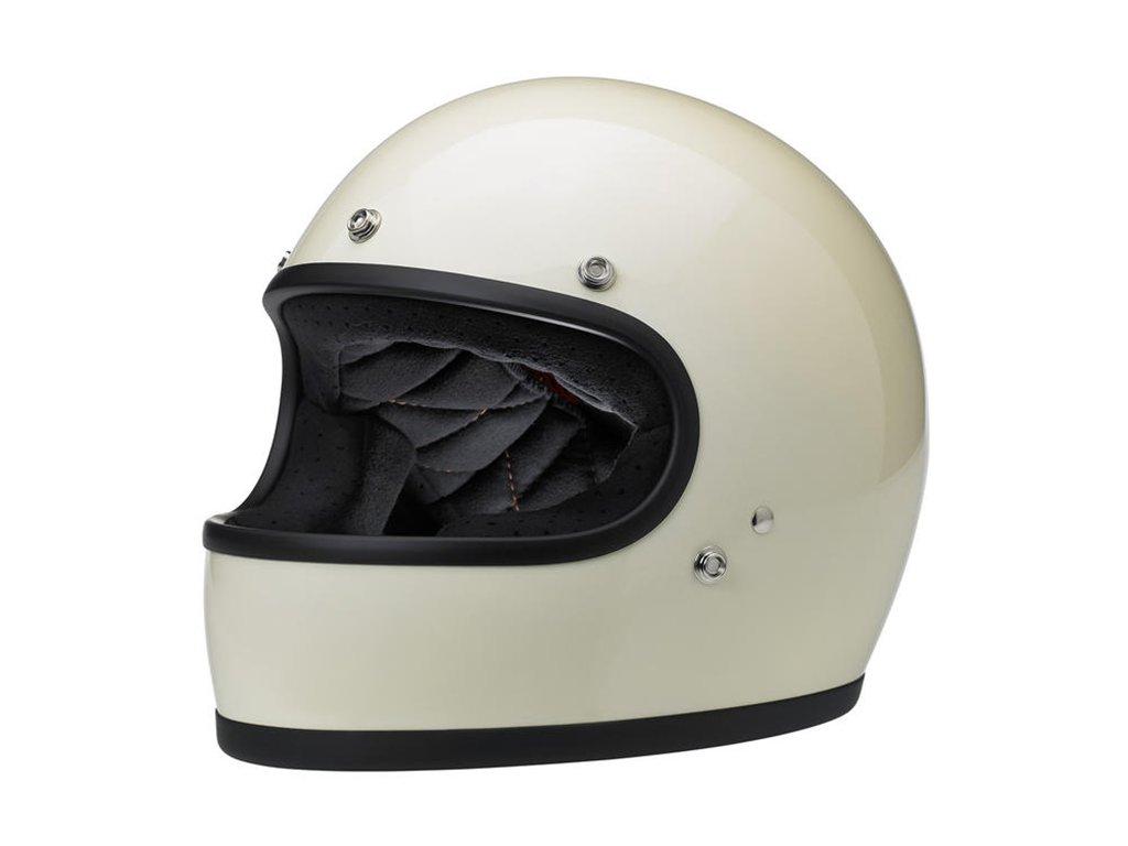 Gringo Helmet Gloss Vintage White ECE