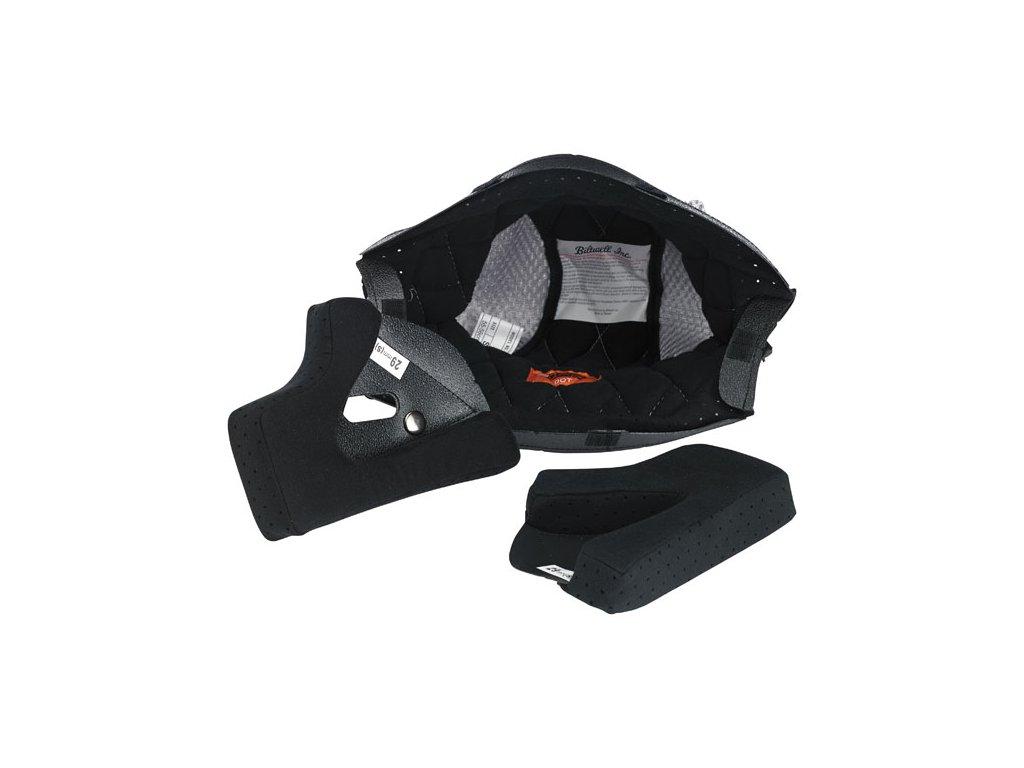 Motorkářská vnitřní výplň pro všechny helmy Gringo a Gringo S v černé barvě