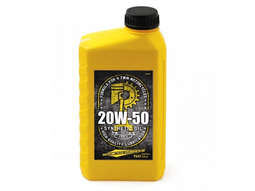 Plně syntetický motorový olej MCS 20W50 / 904504