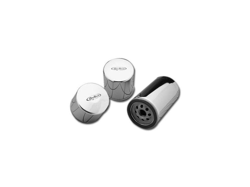Olejový filtr RevTech Magnetic CHROM extra long OEM 63813-90 / 35079
