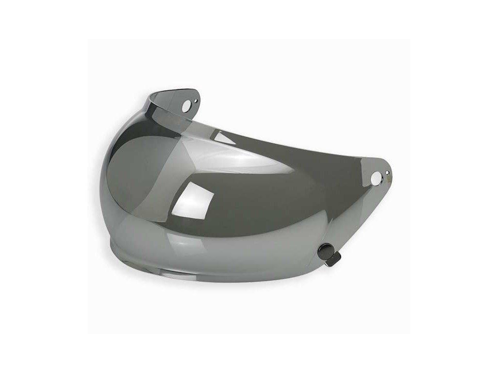 Bubble Plexi Biltwell Gringo S  Chrome Mirror