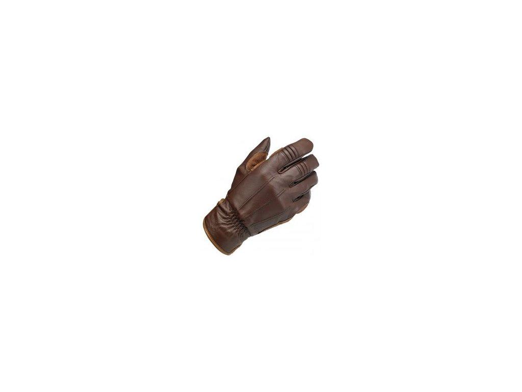 Biltwell Work rukavice Chocolate