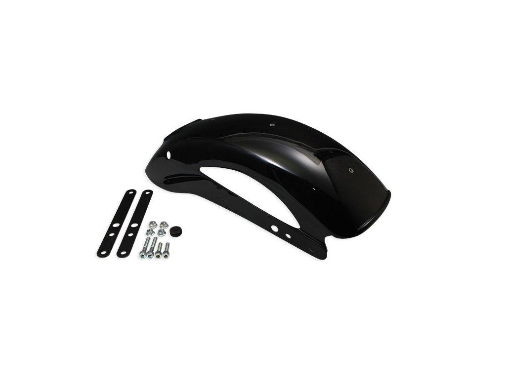 Zadní blatník Bicycle Flat Fiber Glass Black