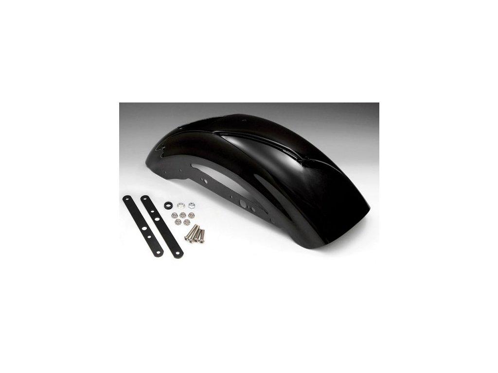 Zadní blatník Bobber Style Fiber Glass Gel Coated Black