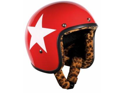 Helma Bandit JET Star červená
