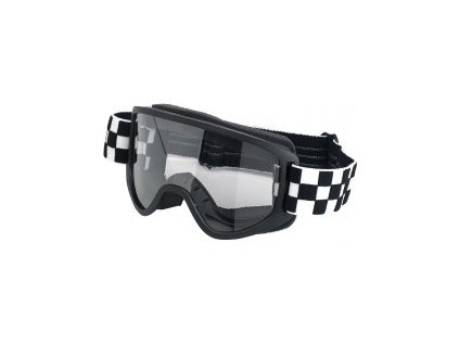 Biltwell Brýle Moto 2.0, Checkers Black/White