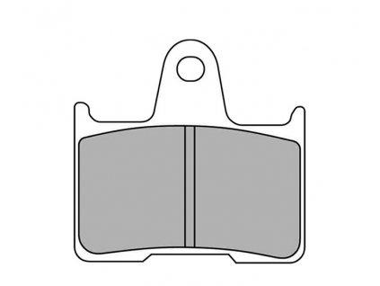 Brzdové destičky FERODO pro Sportster XL 14-17 rear/zadní
