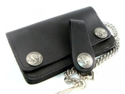 Buffalo Snap Biker Wallet