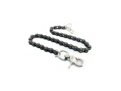 Amigaz Black Bike Chain Wallet Chain