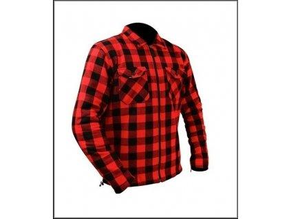 KEVLAR SHIRT/LUMBER JACKET červená košile Flanel