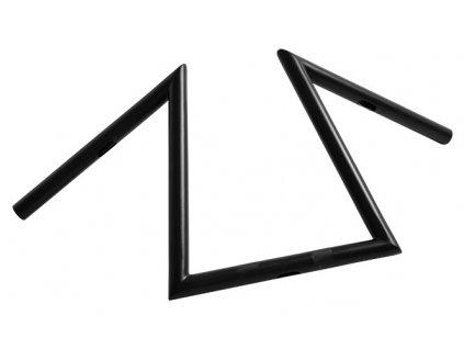 "Řidítka  Z-bar Extreme Black Diameter 25,4mm (1""), Width 630 Pullback 160 Height 300 mm"