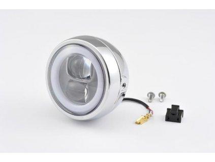 Capsule120, LED světlomet, Boční montáž, Chrom