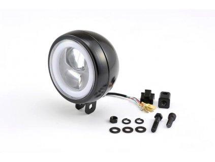 Capsule120, LED světlomet, Přední montáž, Černá